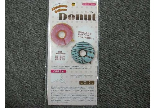 Big donut balloon