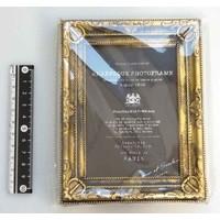 Arabesque photo frame gold