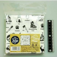 Craft napkin 20s outdoor motif