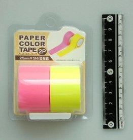 Pika Pika Japan Paper color tape 2p