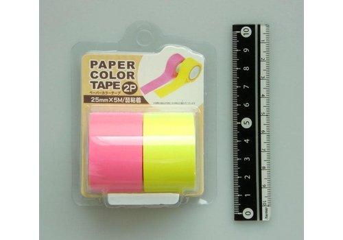 Paper color tape 2p