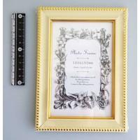 Photo frame classical white