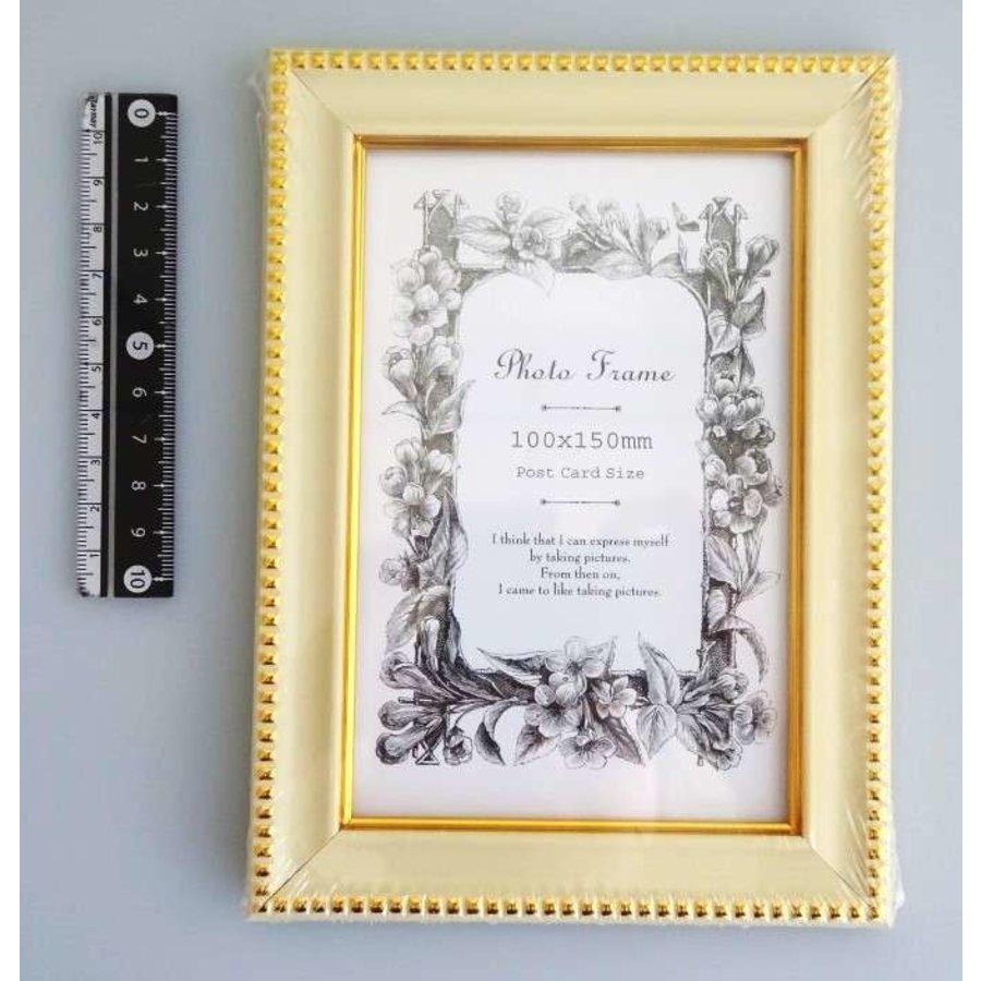 Photo frame classical white-1