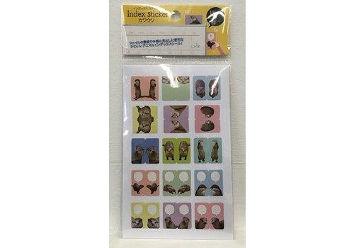 Index sticker otter 15 x 3