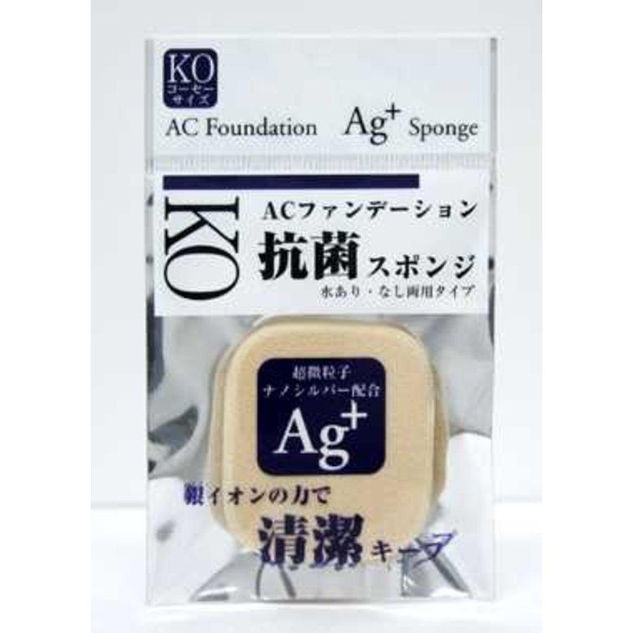 Antibacterial makeup sponge, size A-1