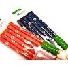 Pika Pika Japan D/R Chopsticks for Guest Kyogasuri 3P