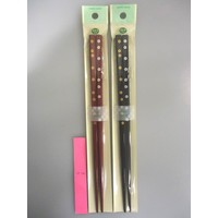 Bamboo chopsticks Gold and silver warm autumn weather 22.5cm