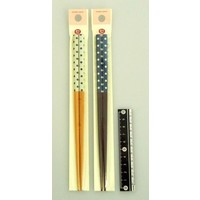 Bamboo chopstick French dot pattern 21cm