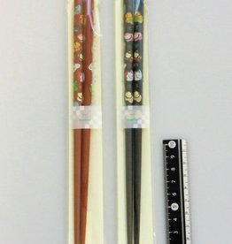 Pika Pika Japan Bamboo chopsticks twelve horary signs 22.5cm