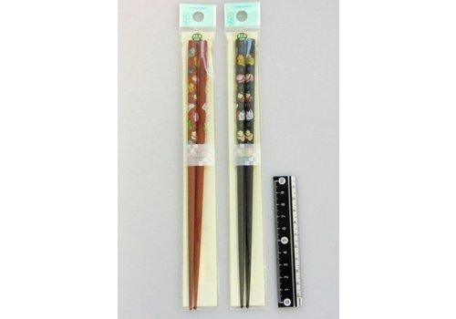 Bamboo chopsticks twelve horary signs 22.5cm