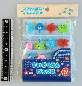Pika Pika Japan Aquarium food picks 10pcs