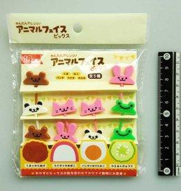 Pika Pika Japan Animal transformation food picks 10p