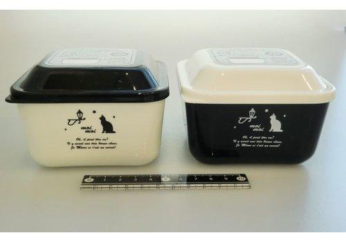 moimoi dome shape square lunch box
