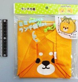Pika Pika Japan PECOPOCO?lunchbox drawstring Shiba dog