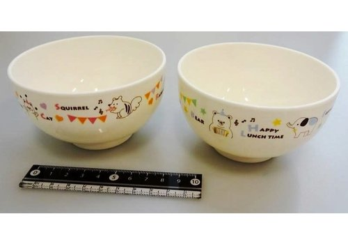 Animal musical soup bowl