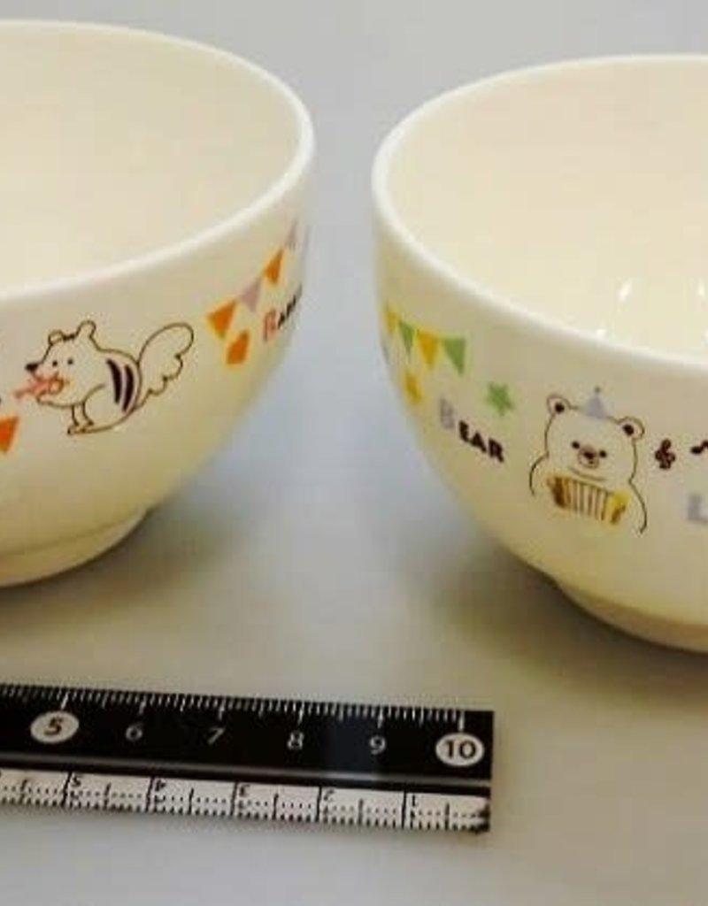 Pika Pika Japan Animal musical soup bowl