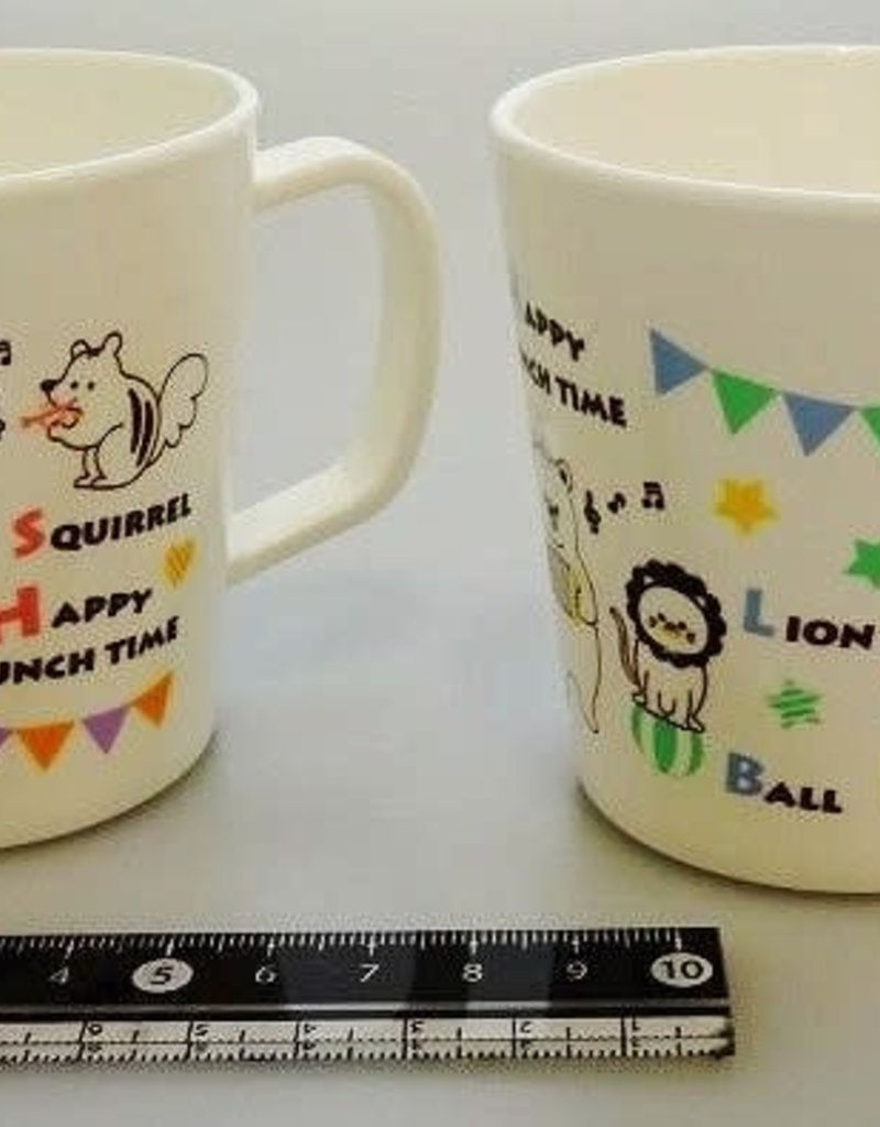 Pika Pika Japan Animal musical mug cup 210ml