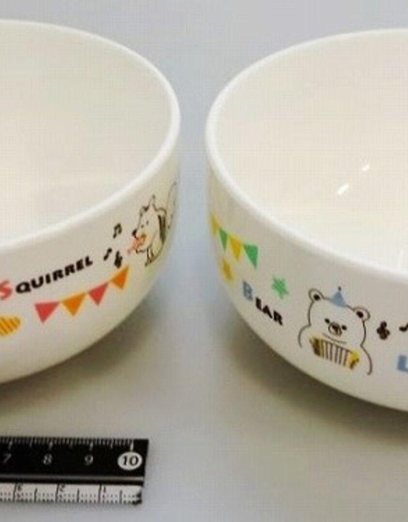 Pika Pika Japan Animal musical rice bowl