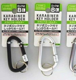 Pika Pika Japan Carabiner key ring with screw lock L B