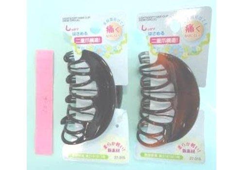 Soft hair vance clip round type