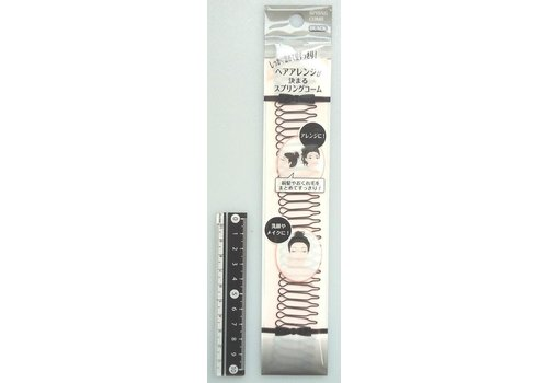 Spring hair comb