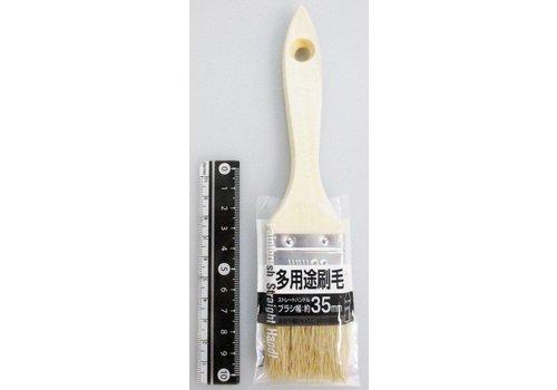 Multiple brush straight handle S 35mm