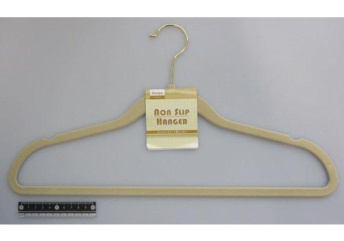 Non slip artificial suede hanger BE