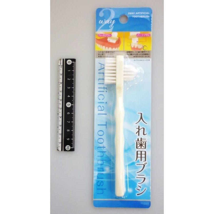 2 way brush for artificial teeth-1