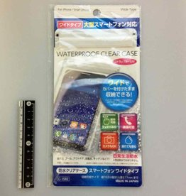 Pika Pika Japan Water proof clear case L size smartphone available