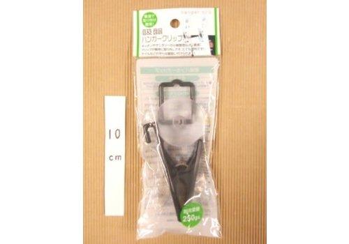 Hanger clip with sucker