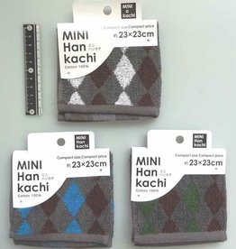Pika Pika Japan MINI handkerchief argyle