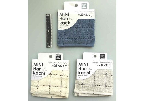 MINI hand towel block stitch