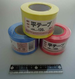 Pika Pika Japan PE flat tape 50mm x 120m color