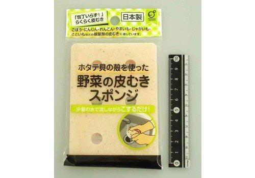 Vegetable peel sponge