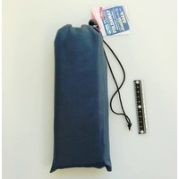 Compact cushion mat with bag navy
