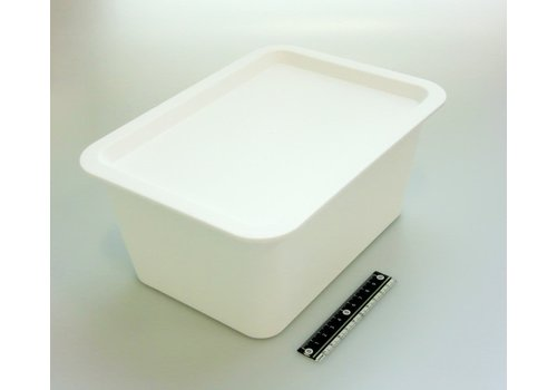 Storage box with lid WH