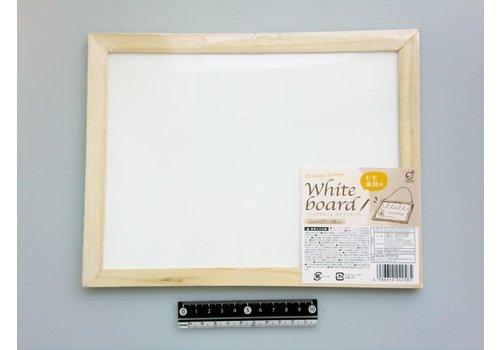 Wood frame whiteboard 20x26cm