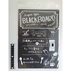 Black borad sheet magnet type 180 x 260mm