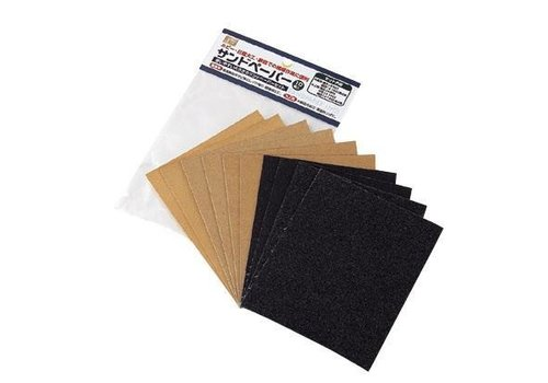 Sand paper, 10 sheets