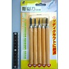 Pika Pika Japan Engraving knife 5p