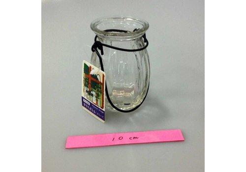 Hanging glass bottle(olive)