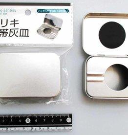Pika Pika Japan Tin plate portable ash tray