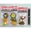 Pika Pika Japan Iwako fancy eraser Japanese sweets motif 3p
