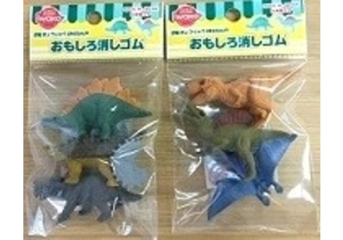 ?Iwako funny eraser dinosaur