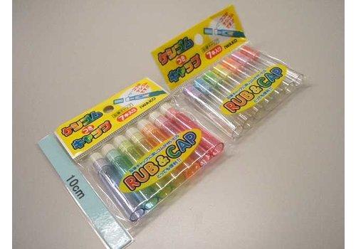 Pencil cap with eraser 7p