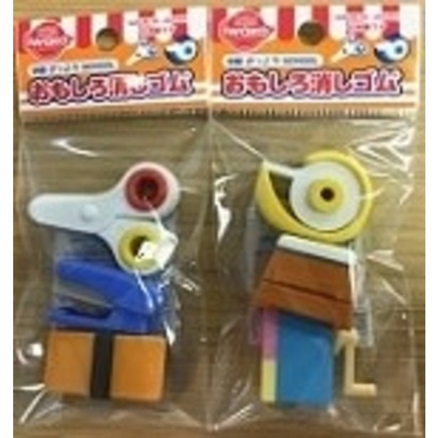 Iwako funny eraser school-1