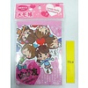 Pika Pika Japan A6 size memo pad 100s happy friends