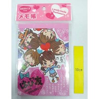 A6 size memo pad 100s happy friends
