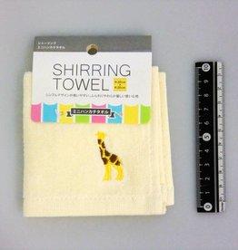 Pika Pika Japan Mini handkerchief towel cream