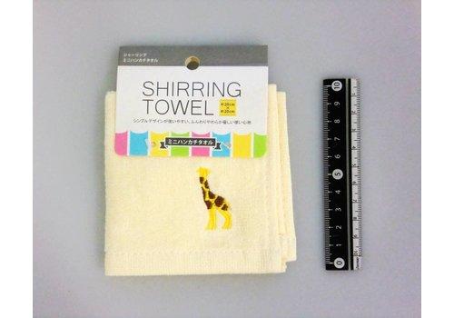 Mini handkerchief towel cream